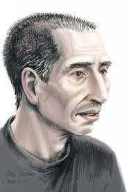 Daniel Sowerby sketched as he is now by Petra Urban